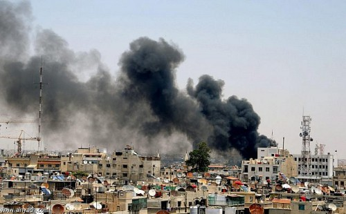 دمشق تشهد أعنف الاشتباكات وبغداد تدعو رعاياها  الى مغادرة سوريا