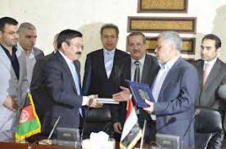 اتفاق عراقي افغاني على فتح قنصلية افغانية بكربلاء وخط طيران بين عاصمتي البلدين