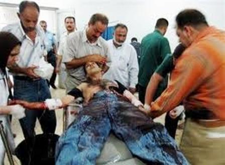 اصابة 3 مدنيين بانفجار عبوة ناسفة وسط سوق شعبي بمدينة الموصل