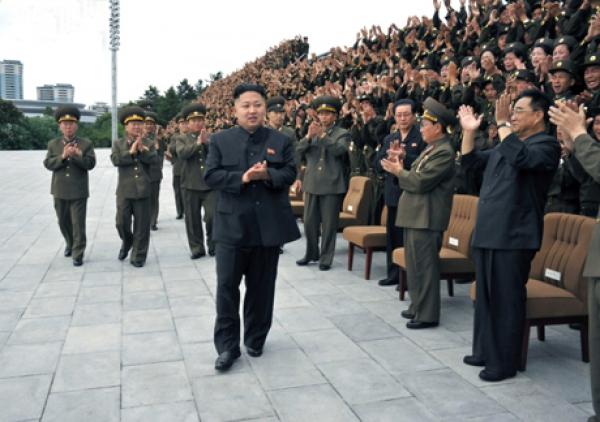 كوريا الشمالية تستعد لحرب مقدسة