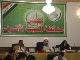مجلس محافظة النجف يرفع دعوى قضائية ضد الشهرستاني وعفتان بسبب تردي الكهرباء