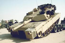 العراق يتسلم تسع مدرعات اميركية ابرامز من طراز  M1A1