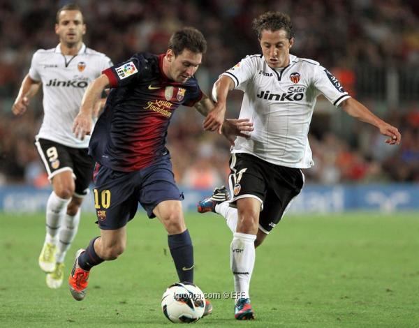 برشلونة يتخطي عقبة فالنسيا في مباراة غابت عنها متعة البلوجرانا