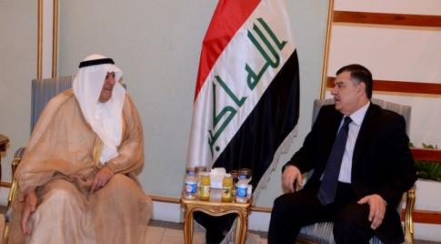 رئيس ديوان رئاسة الجمهورية العراقية يستقبل السفير الكويتي لدى العراق