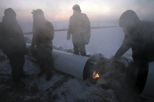 الغيوم تتراكم في سماء عملاق الغاز الروسي غازبروم