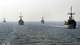 """انطلاق """"اكبر مناورات بحرية تشهدها منطقة الشرق الاوسط"""" في مياه الخليج"""