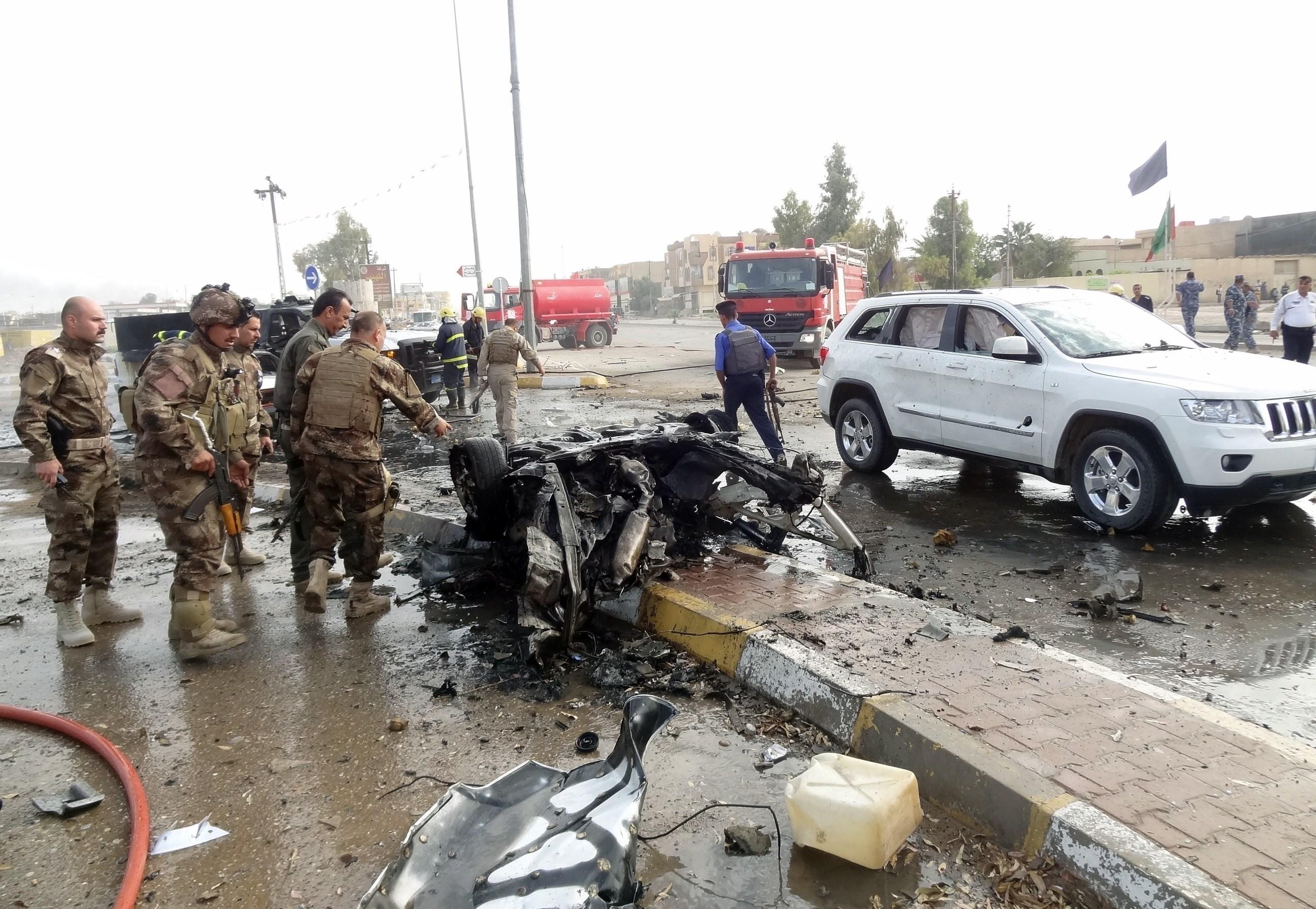 سبعة قتلى في هجوم انتحاري استهدف المنطقة الخضراء