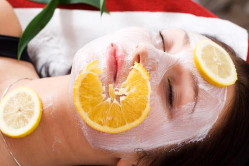 لوسيون البرتقال والليمون لتنعيم وتفتيح الجسم