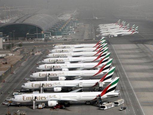 ارتفاع قياسي لحركة الركاب بمطار دبي