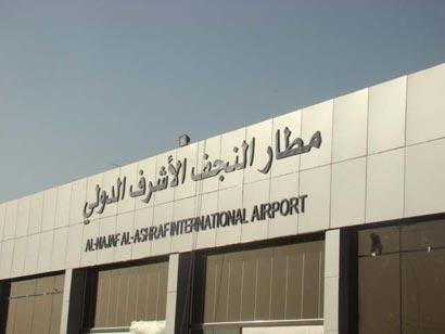 النجف : سلطات النجف تتراجع عن قرار ايقاف رحلات طيران الخليج البحرينية