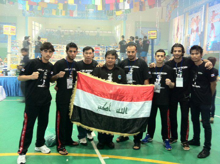 بطولة اندية العراق بالمواي تاي