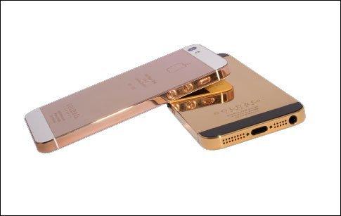 نسخة ذهبية من آيفون 5 في دبي