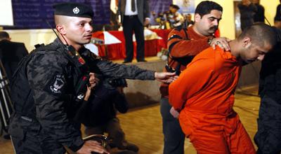 فشل عملية هروب لكبار قادة القاعدة من سجن تكرير المركزي