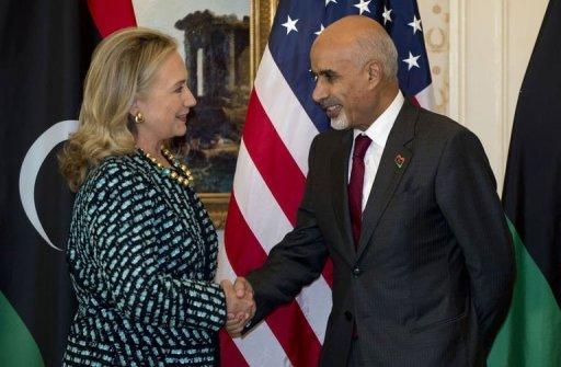 """رئيس المؤتمر الوطني لكلينتون: ليبيا لن تكون """"عبئا"""" على العالم"""