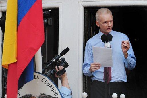 لندن وكيتو لم تتفقا بشان قضية مؤسس ويكيليكس