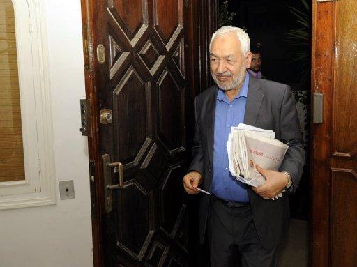 رئيس حزب النهضة يؤيد توسيع الحكومة لادارة تونس حتى الانتخابات
