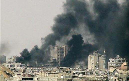 قصف وإعدامات في يوم دام بسوريا