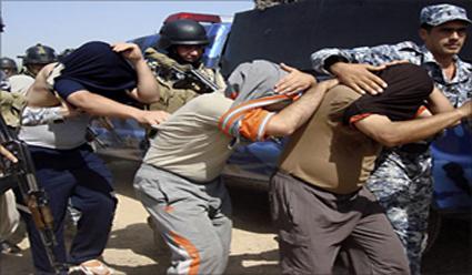 النجف : القبض على ثلاثة اشخاص متورطين بجريمة سطو مسلح