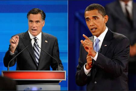 سجال حاد حول الازمة الاقتصادية في اميركا خلال مناظرة بين اوباما ورومني