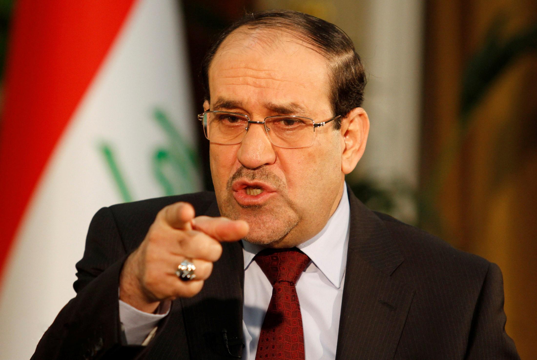 المالكي:أهل الموصل هم الذين اسقطوا الموصل بمؤامرة