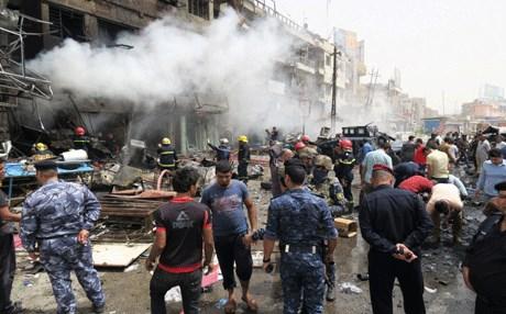 تفجير شرقي بغداد يودي بحياة مواطن و7جرحى