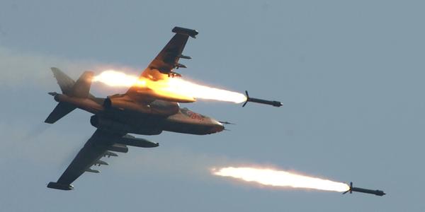 """تدمير معسكر لـ """"داعش"""" في الرطبة غربي الانبار"""