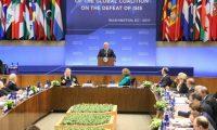 التحالف الدولي يؤكد العمل على منع اي ظهور لداعش بعد إنتهائه