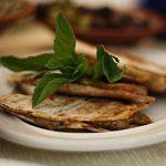 العرايس المشوية بالخبز العربي