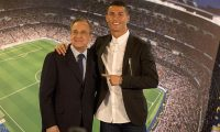 """رونالدو """"سعيد"""" بعد كلمات من رئيس ريال مدريد"""