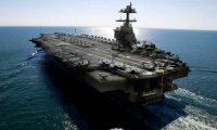 امريكا تدشن اكبر حاملة طائرات نووية