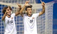 """الاولمبي العراقي الأولمبي العراقي يرفع شعار """"الفوز فقط"""" قبل مباراة السعودية"""