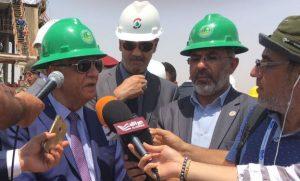 العراق يدشن ثالث بئر للنفط في حقل السندباد  بمحافظة البصرة