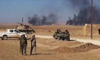 تدمير خط امداد داعش في الشرقاط