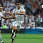 ريال مدريديفوز بكأس السوبر الاسبانية بعد تغلبه على برشلونه 5-1 ذهاب واياب
