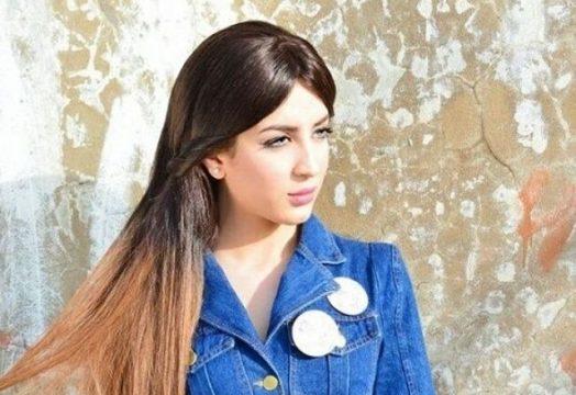سهيلة بن لشهب في لبنان لتسلم جائزة أحسن فنانة صاعدة