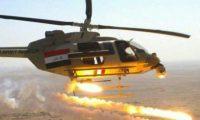 طيران الجيش يستهدف مواقع داعش في الشرقاط والحويجة