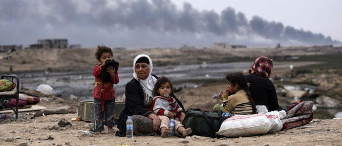مواد كيمياوية ومشعة تعيق عودة الاهالي الى الموصل