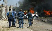اصابة ثلاث عناصر من الشرطة بانفجار عبوة ناسفه جنوبي بغداد