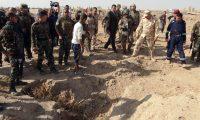 مقبرة جماعية جديدة تضم رفات 400 من ضحايا داعش