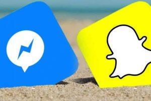 فيس بوك تختبر إضافة إحدى مزايا خدمة التراسل سناب شات إلى الماسنجر