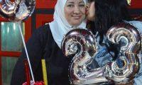 """بالــصور ..الفنانة الجزائرية الشابة سهيلة بن لشهب تحتفل بميلادها الـ""""23″."""