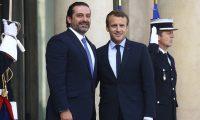 ماكرون يستقبل رئيس الوزراء المستقيل  اللبناني سعد الحريري