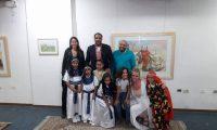 """""""الإنسانية هي عائلة في جميع الكون""""، عنوان المعرض التشكيلي التي تستضيفة مكتبة مصر"""