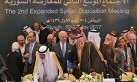 المعارضة السورية تبدأ محادثات في الرياض وتسعى لتشكيل هيئة عليا للمفاوضات