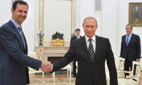 بوتين لبشار الأسد موسكو تعمل مع الولايات المتحدة على تحقيق الهدف