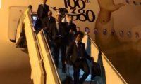 ريال مدريد يصل أبو ظبي للمشاركة في كأس العالم للأندية 2017