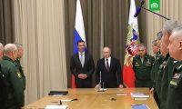 بوتين يصل لقاعدة حميم ويلتقي الأسد و أوامر بانسحاب جزئي لقوات الروسية