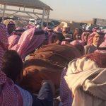 بصور تشيع أبو بكر سالم إلى مثواة الأخير  في الرياض