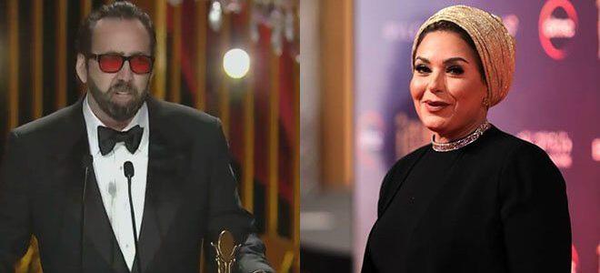 صابرين تسحب تصريحاتها حول الممثل نيكولاس كيج بعد السخرية منها