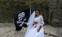زفاف أمراة من شبح القرصان الهايتي
